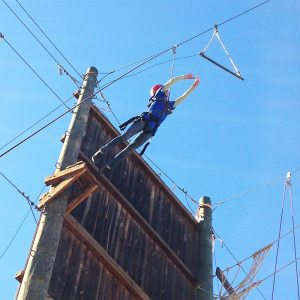 Guided High Ropes course in Fulton of Los Angeles, California | arc Adventure