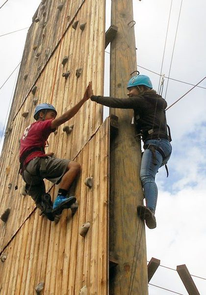Building team trust on the high ropes in Fulton | arc Adventure