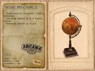 {A} Antique World Globe II Vendor