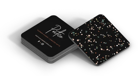 Poetica business cards