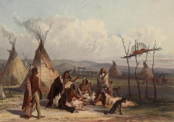 Les Amérindiens, la mort et au-delà