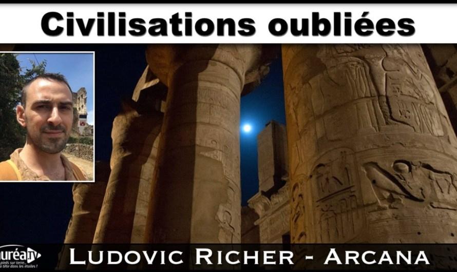 « Civilisations oubliées » avec Ludovic Richer (Arcana) – NURÉA TV