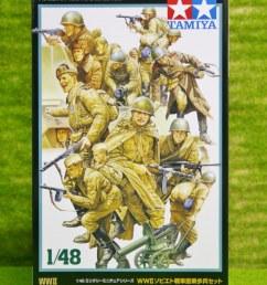 tamiya wwii russian infantry tank crew 1 48 scale kit 21 [ 801 x 1200 Pixel ]