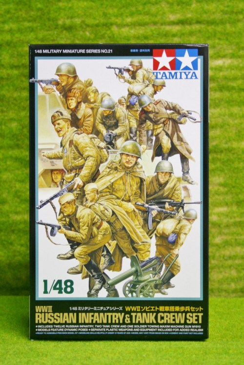 small resolution of tamiya wwii russian infantry tank crew 1 48 scale kit 21