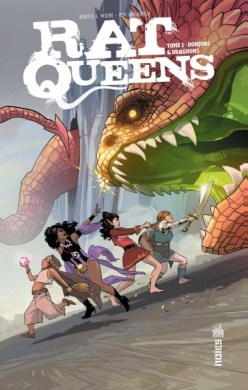 Rat queens Tome 1 : Donjons & dragons