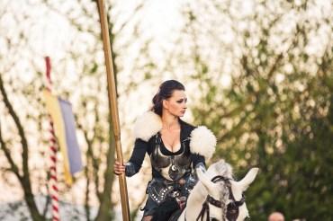 Amazone als Ritter