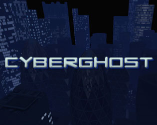 CyberGhost title screen
