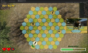 early prototype screenshot of Don't Bug Me!