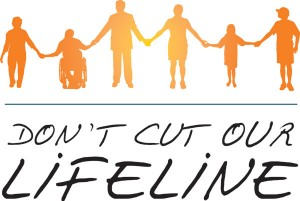 Don't Cut Our Lifeline Logo