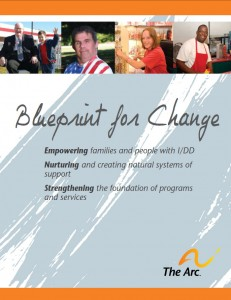 Blueprint for Change Report Cover by The Arc of Indiana