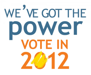 We've Got the Power – Vote in 2012