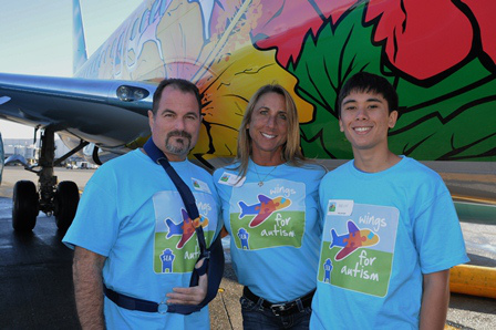 Wings for Autism participants