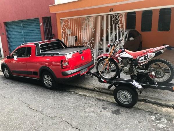 Carreta 1 moto