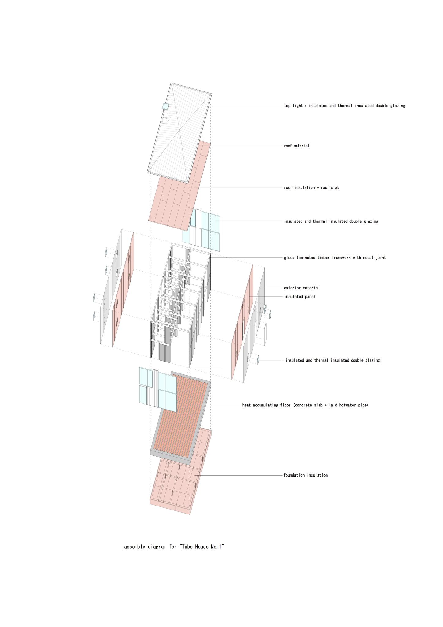 02 Tube House No1 Assembly Diagram V12 Arcdog