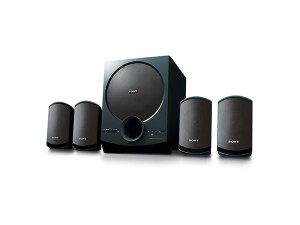 Sony SA-D40 4.1 Channel Multimedia Speaker System with Bluetooth Black