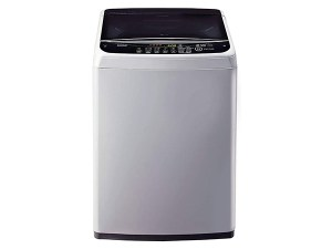 LG 6.2 kg Inverter Fully-Automatic Top Loading Washing Machine T7288NDDLG.ASFPEIL, Middle Free Silver