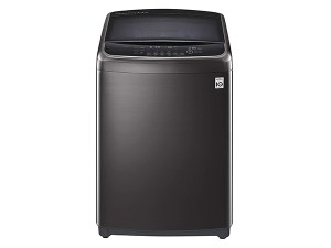 LG 11.0 Kg Inverter Wi-Fi Fully-Automatic Top Loading Washing Machine THD11STB, Black Stainless Steel