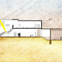 Architecture Section Diagram R33 Rb25det Wiring Public Library Student Project Arch Concept