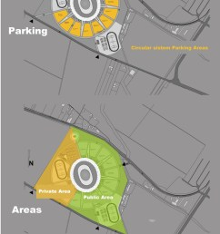 site plan diagram stadium concept [ 800 x 2426 Pixel ]