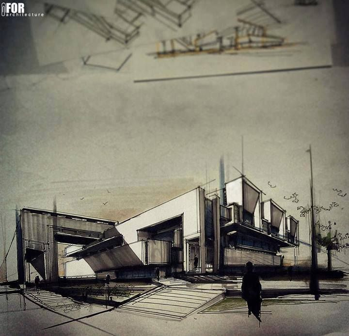 2 Point Perspective Drawing Archstudentcom