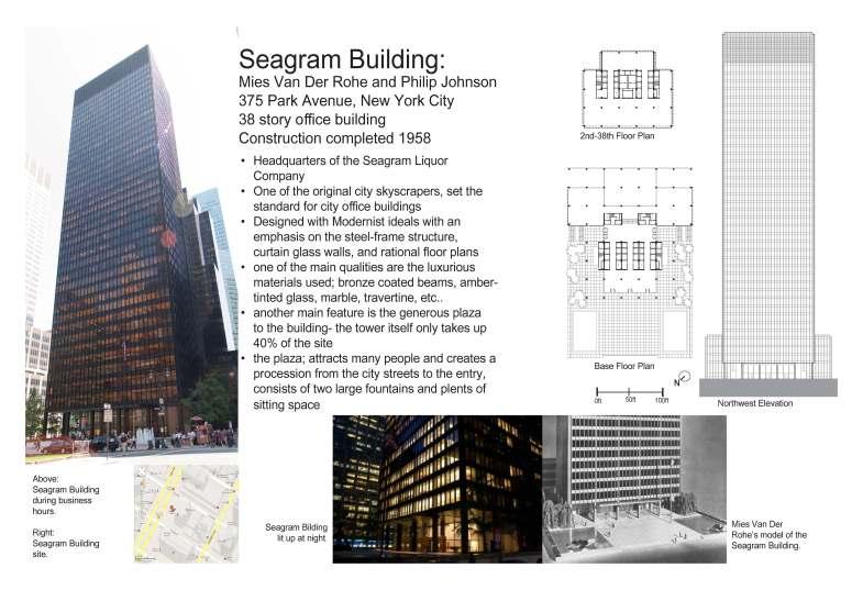 Seagram Building | ARCHITECTURE 220 @ DVC_SP 2012