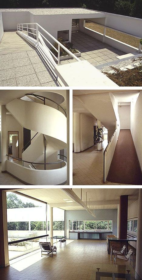 La Villa Savoye Le Corbusier : villa, savoye, corbusier, Facts, About, Villa, Savoye, Arch2O.com