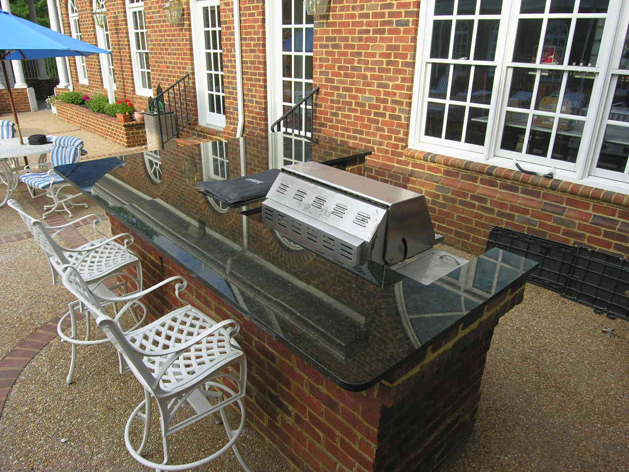 l shaped outdoor kitchen resurface countertops kitchens  the perfect addition to your