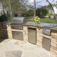 Outside Kitchen Designs Antique White Table Outdoor Design Ideas For The Ultimate Cooking