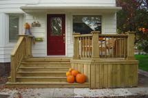 Beauty And Practicality Of Wood Decks Iowa