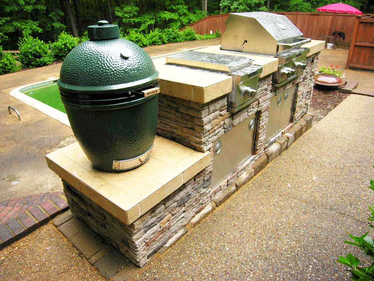 Outdoor Kitchens  An Outdoor Living Space  Patios