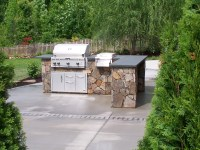 Outdoor kitchens  this aint my dads backyard grill ...