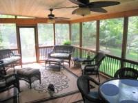 Screened porch interior designs in Kansas City | Archadeck ...