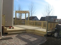 Deck And Patio Combination Great Solution