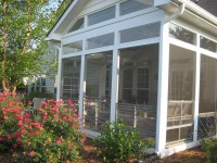 Screen Porches with a window enclosure system prevents ...