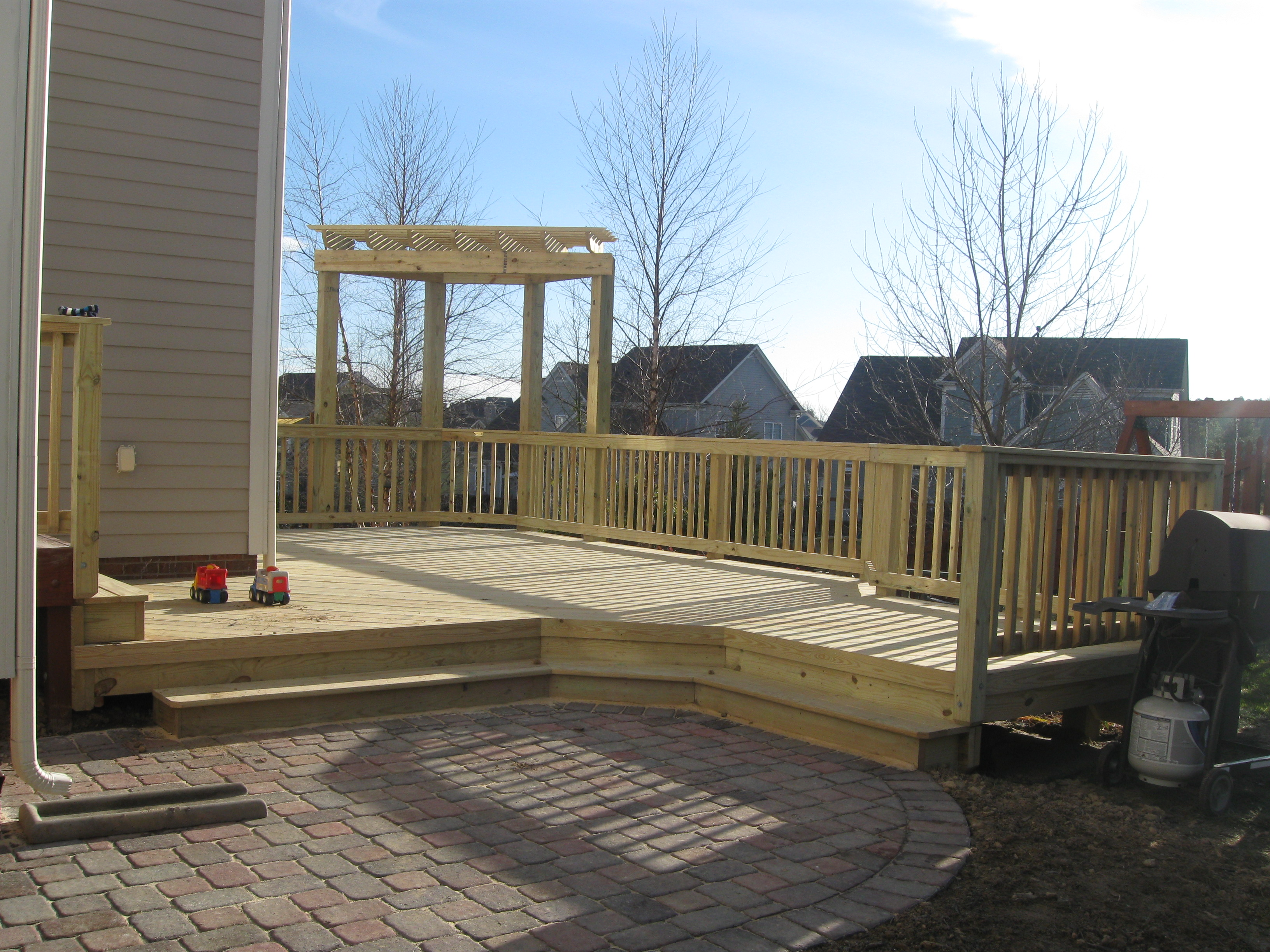 Deck And Patio Together? In Charlotte We Do It All The