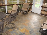 Screen porch flooring options | Archadeck of Charlotte