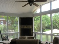 Sun Rooms and Porches with Fireplaces.the ultimate ...