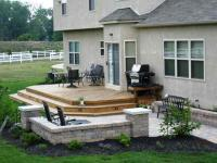 Patio and deck combinations  Columbus Decks, Porches and