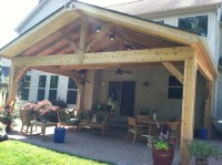 Let the sun shine through with an open porch design in