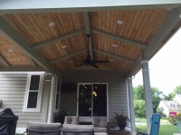 vaulted ceiling open porch Westerville OH lr