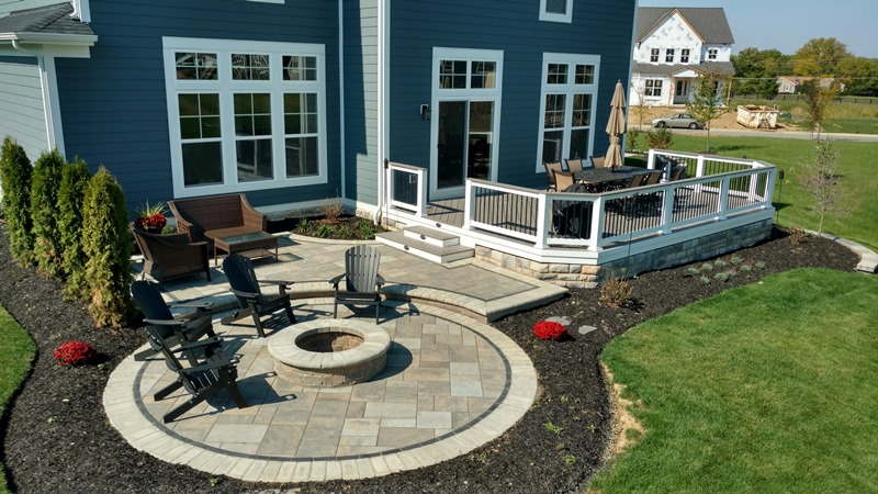 Why a Columbus deck and patio combination is sure to make