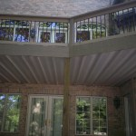 Under Deck Ceiling St Louis Decks Screened Porches Pergolas By Archadeck