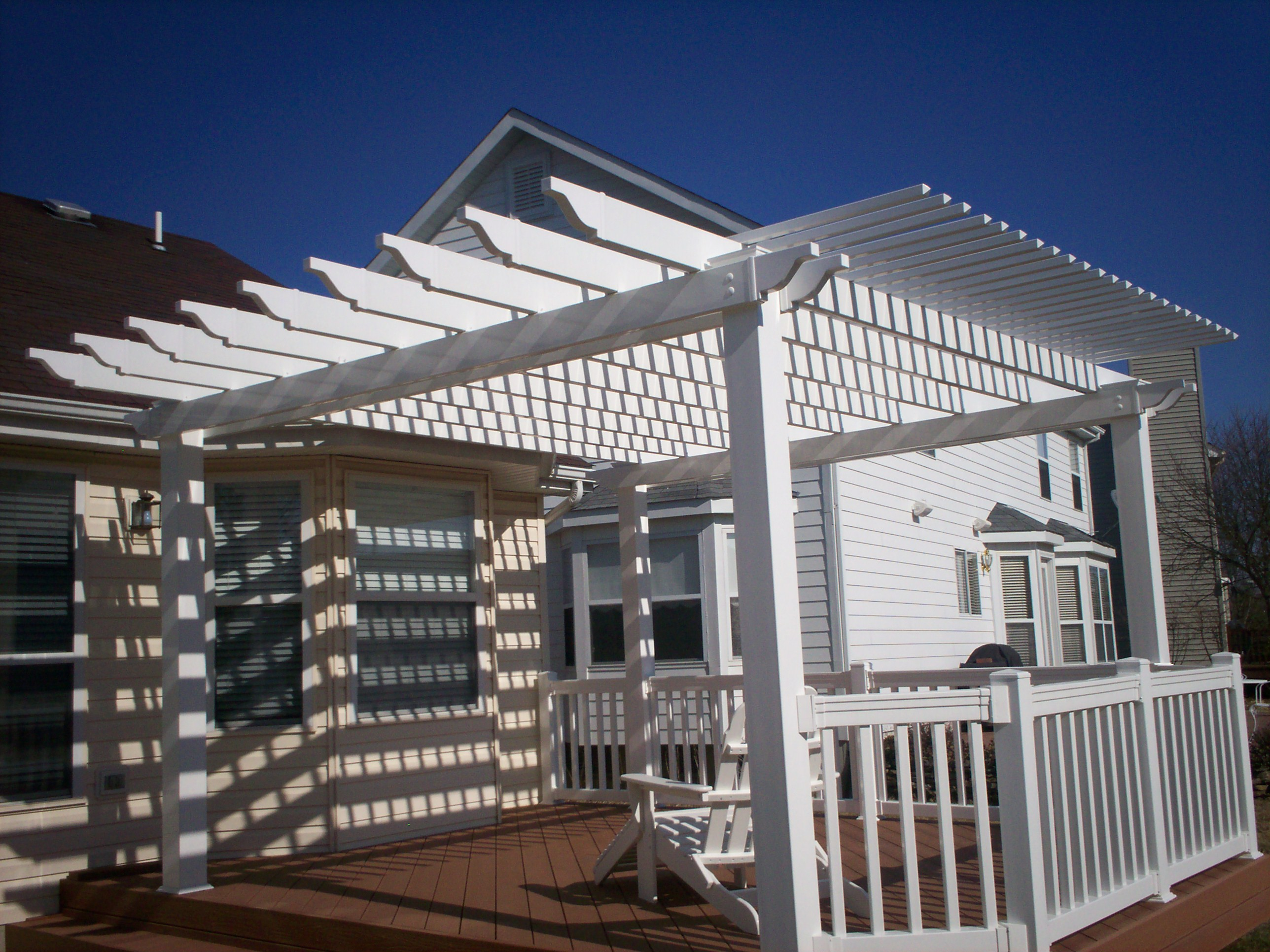 Pergolas for Stylish Functionality  St Louis decks screened porches pergolas by Archadeck
