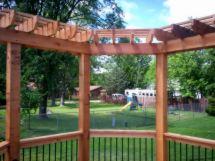 Deck Corner Pergola Designs