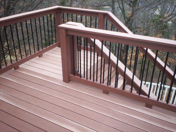 Deck Stair Railing Design Ideas