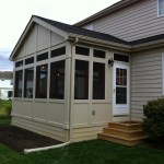 What Is Knee Wall Railing And Why Would I Want It St Louis Decks Screened Porches Pergolas By Archadeck