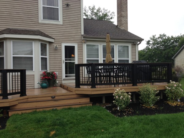 deck post cover and cap ideas