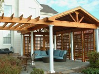 Pergolas With Roof