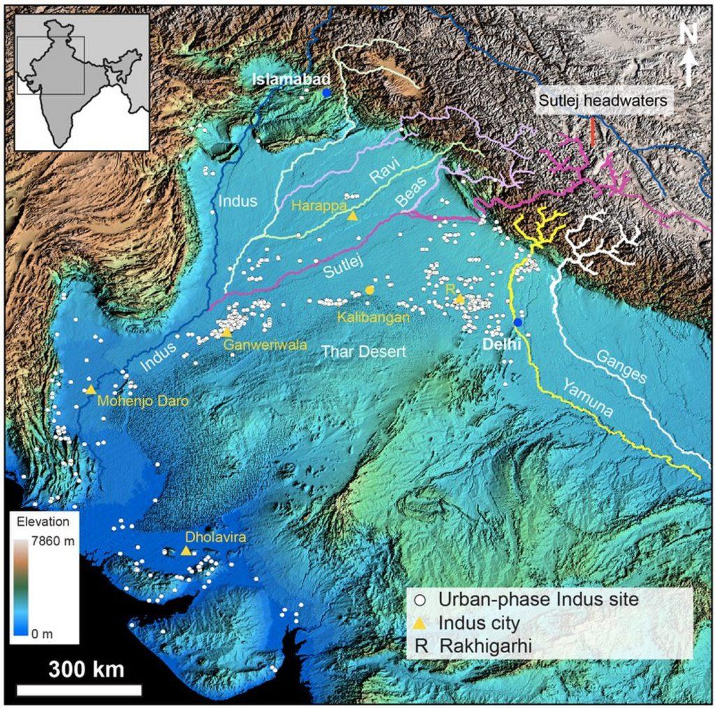Bronze Age Indus Civilization Thrived On Seasonal Monsoon