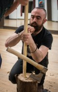 Teaching Experimental Archaeologyy and Bowmaking in Vancouver